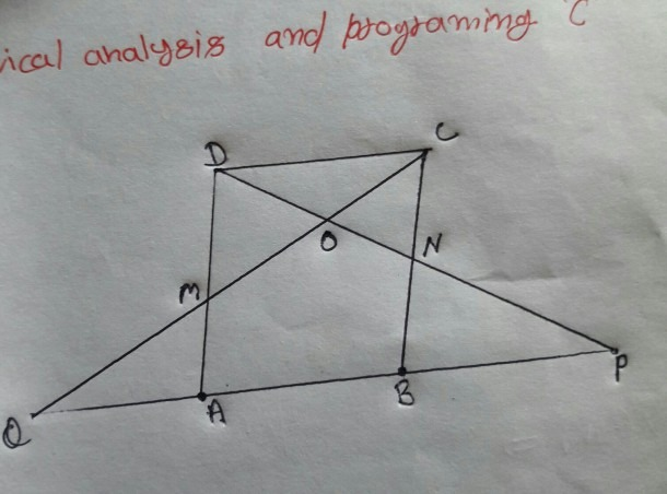 In Parallelogram Abcd Of The Accompanying Diagram, Line Dp Is