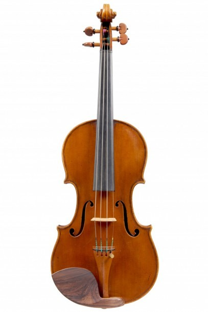 A Very Fine Italian Violin By Enrico Rocca, Genova 1915 Labelled