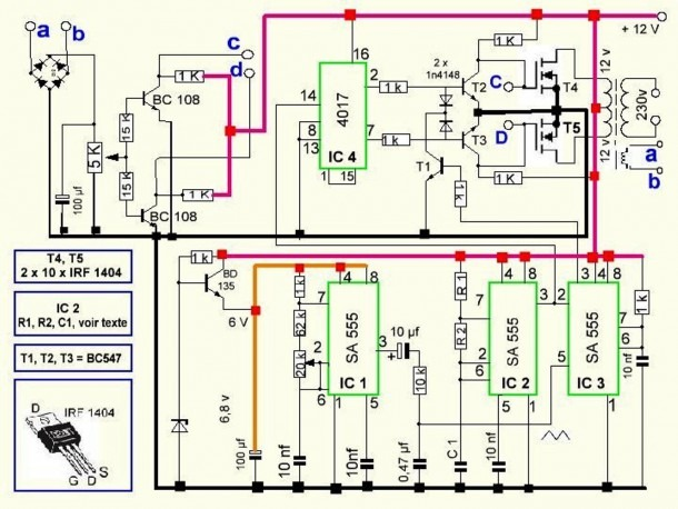 True Sine Wave Inverter Circuit Diagram – Ireleast,circuit Diagram