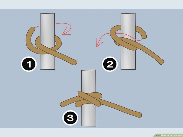 How To Tie Up A Boat  9 Steps (with Pictures)