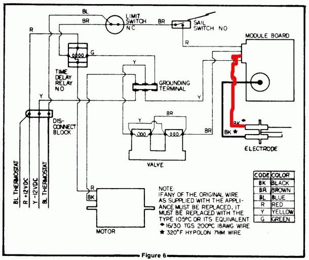 Rv Furnace Parts Diagram