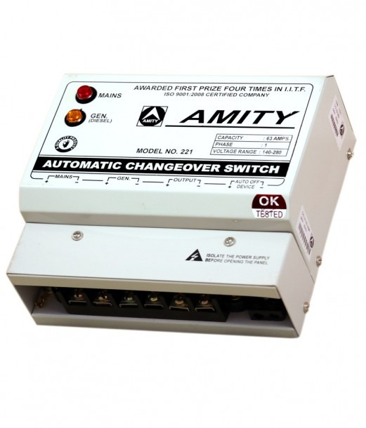 Buy Amity 63a Automatic Changeover Switch