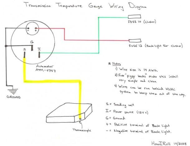 12 Voltmeter Wiring Diagram