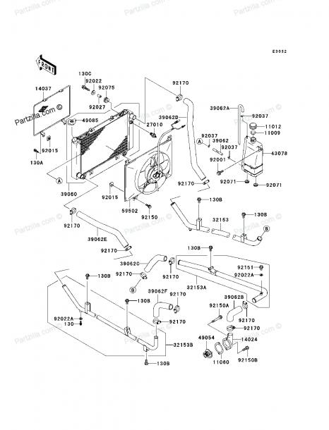Kawasaki Mule 3010 Parts Diagram
