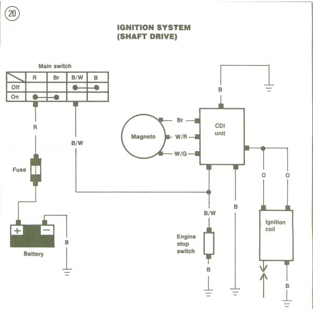 1994 Yamaha Blaster Diagram