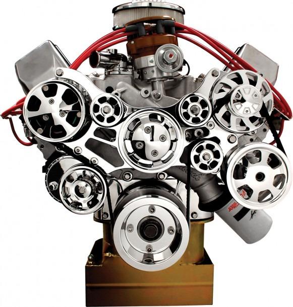 Billet Specialties Tru Trac Serpentine Front Engine