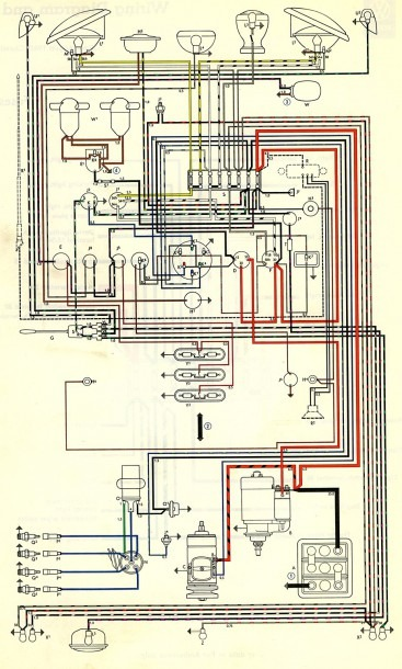1964 Vw Beetle Wiring Diagram Free