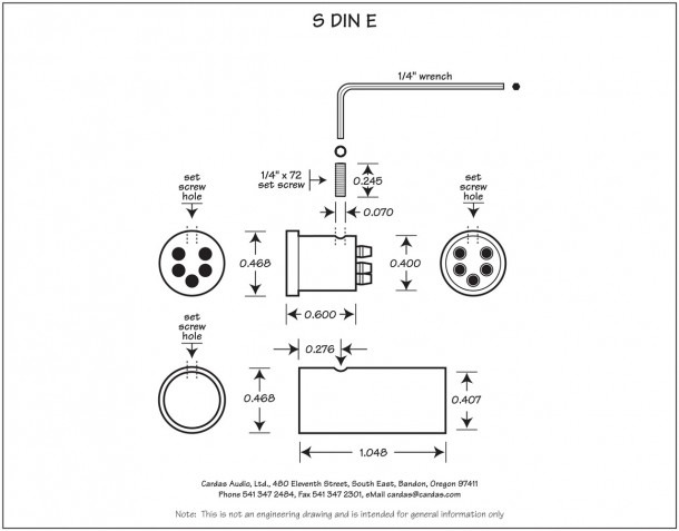 5 Jack Wiring Din To