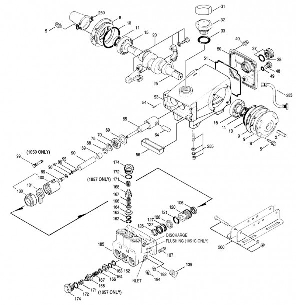 Cat 530 Pump Parts Diagram Archives