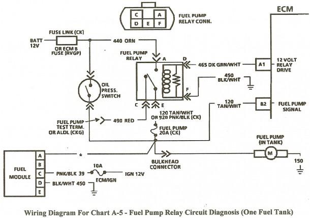 Gm Fuel Pump Relay Diagram