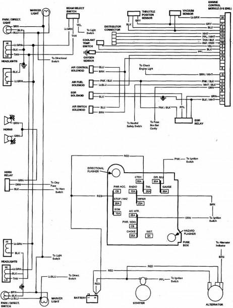 Free Wiring Diagrams Chevrolet