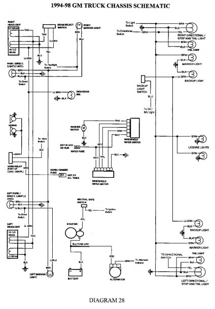 2002 Chevy Suburban Trailer Wiring Diagram