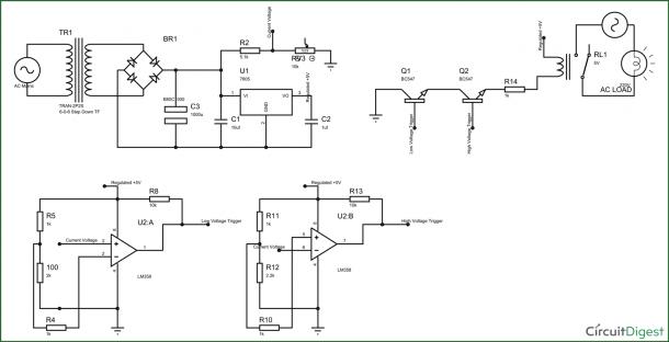 Threshold Schematic Circuit Diagram