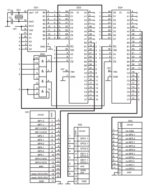 Circuit Diagram Of Microprocessor