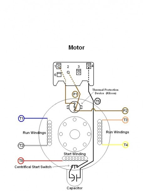 Wagner Electric Motor Wiring Diagram