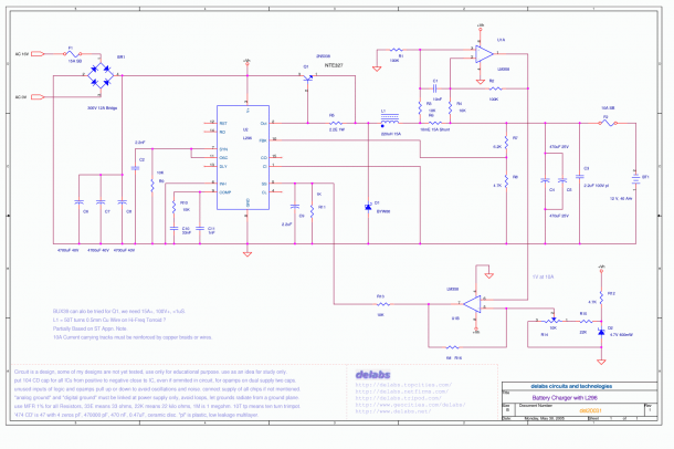 Battery Charging Regulator Circuit Diagram Electronic Circuit