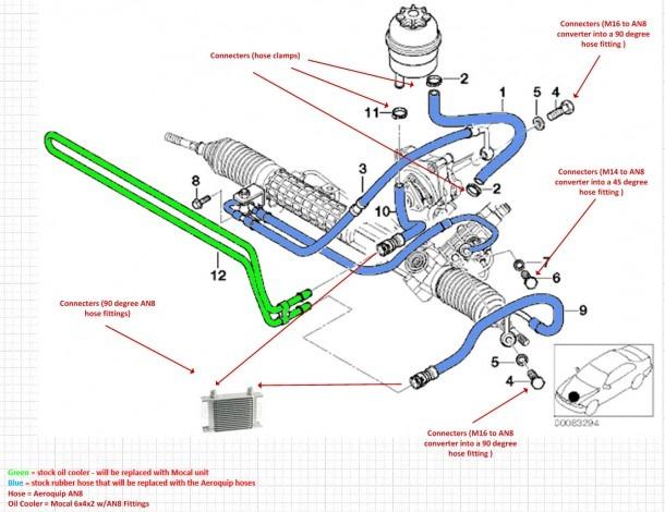 2006 Power Steering Hose Schematics F 150