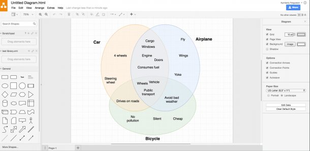 Create Venn Diagrams With Draw Io – Draw Io
