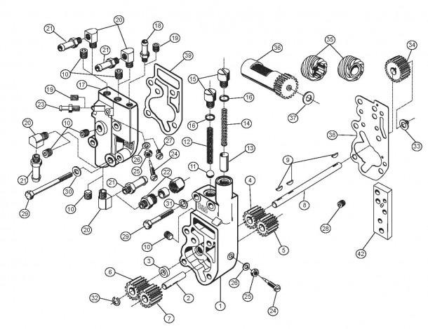 Harley S&s Oil Pump Schematic