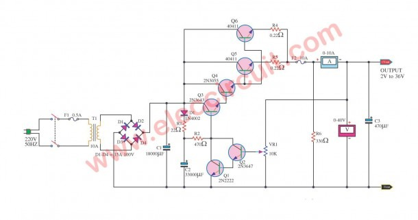 Variable Power Supply Circuit, 0