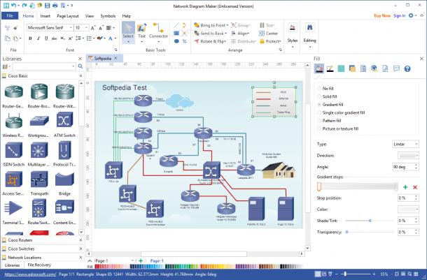 Download Network Diagram Maker 8 7 5