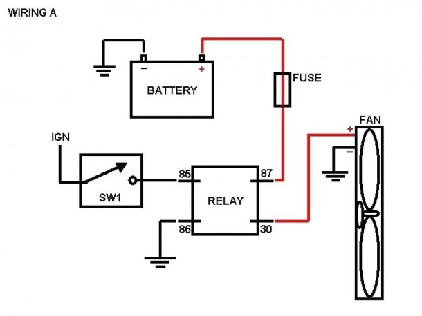 Alternating Relay Wiring