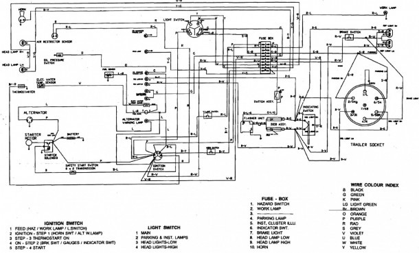 Diesel Alternator Wiring Diagram