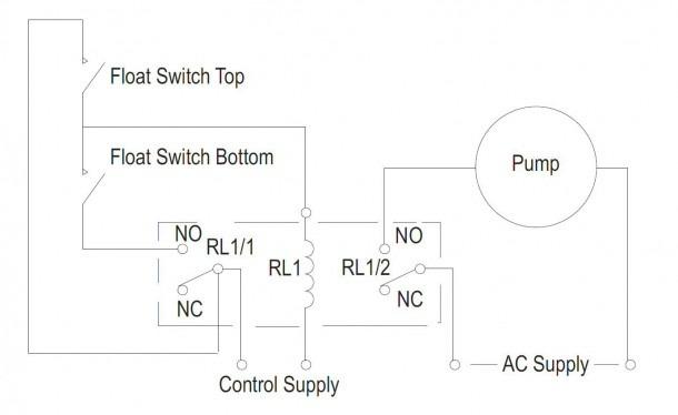 2 Float Pump Control Diagram