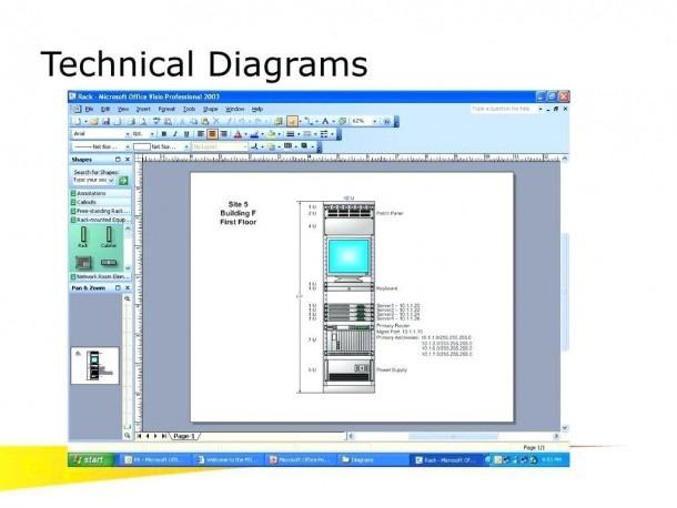 Rack Diagram Excel Template Download – Excelexcel