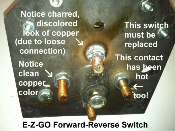 Golf Cart Forward Reverse Switches  A Closer Look
