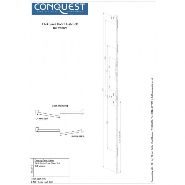 Door Handing Sheet &  03 2610