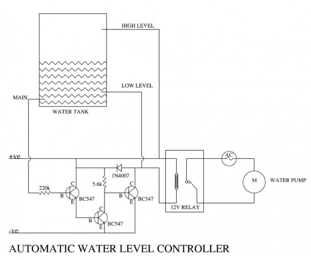 $1 Automatic Water Level Controller  5 Steps (with Pictures)