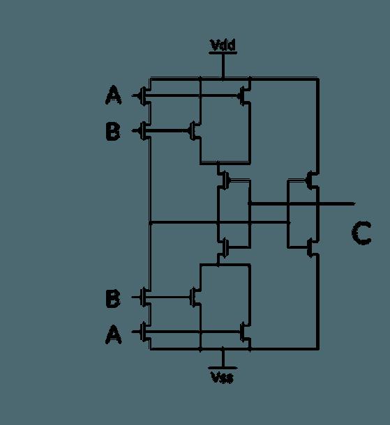 Cmos Or Gate ~ Electronic Circuit Diagram