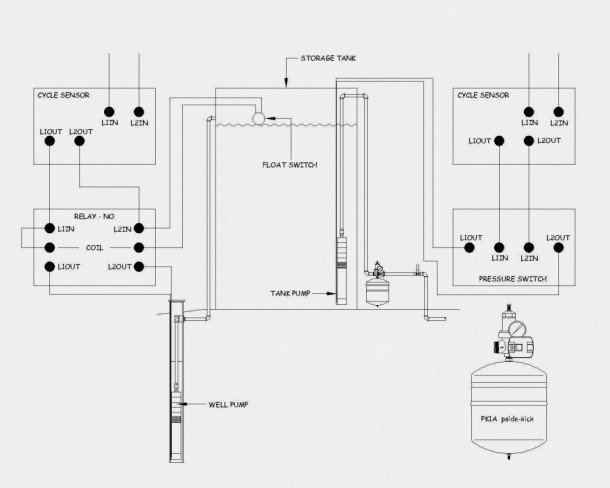 Diagram Of A Float Switch Schematic
