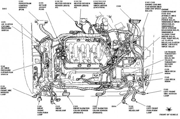 2004 Ford Focus Engine Diagram  U2013 Best Diagram Collection