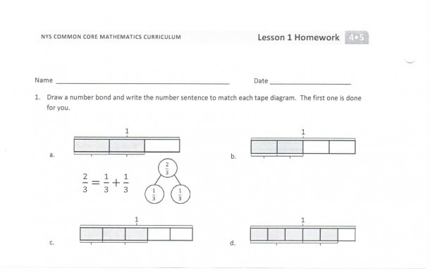 Tape Diagram Worksheets