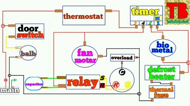 Refrigerator Circuit Diagram Pdf