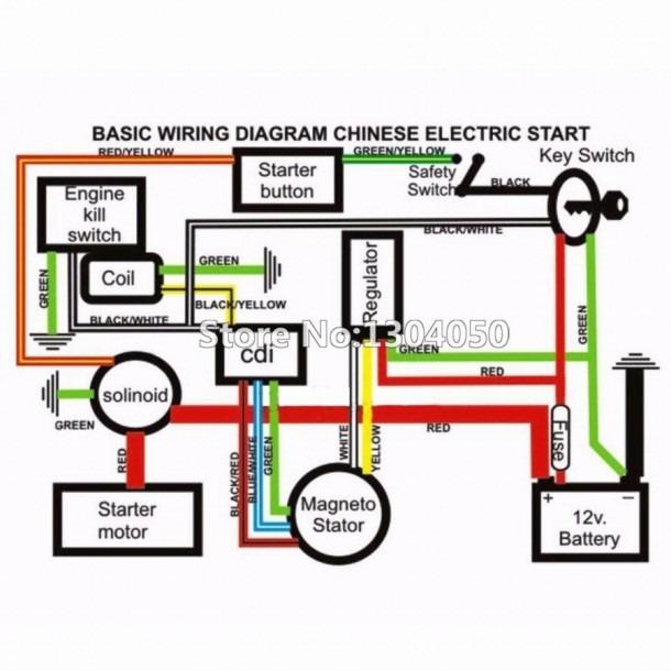 Atv Spark Plug Wiring Diagram