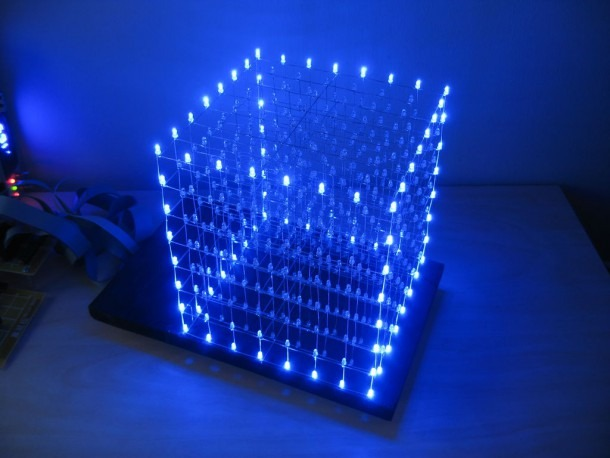 Led Cube 8x8x8  72 Steps (with Pictures)