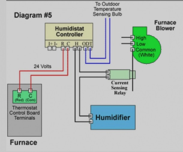 Wiring Diagram For Humidifier