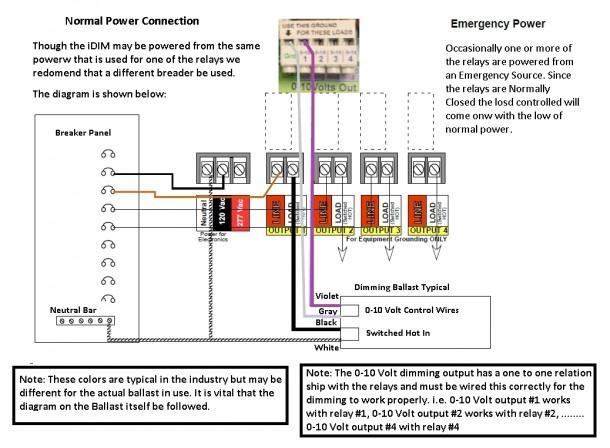 0 10 volt dimming wiring diagram Philips Ballast Wiring Diagram 0 10 volt dimming wiring diagrams
