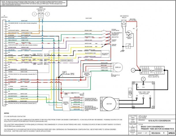 Ev Wire Diagram