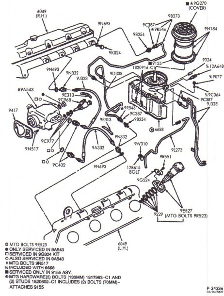 Ford 73 Parts Diagram