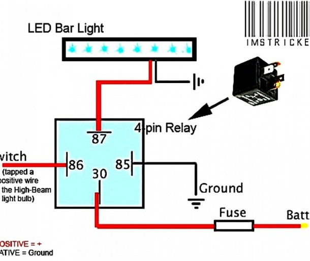 12v Led Bar Wiring Diagram