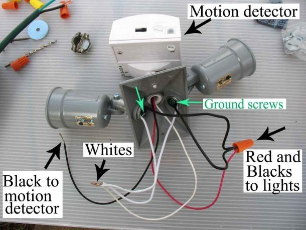 Motion Light Wiring