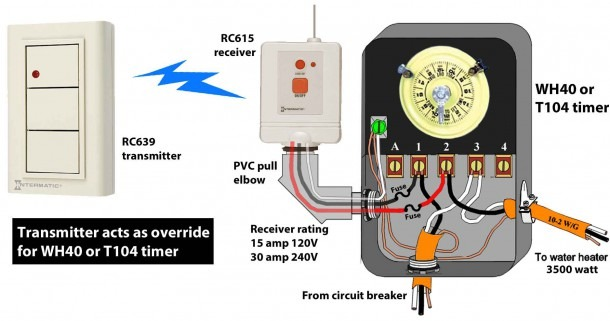 Intermatic Mechanical Timer Wiring Diagram