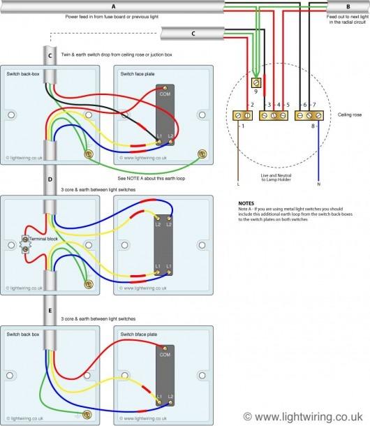 3 Way Wiring Diagram Uk
