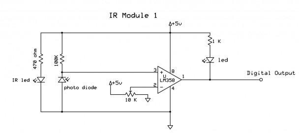 Ir Detector Wiring