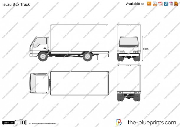 Box Truck Diagram