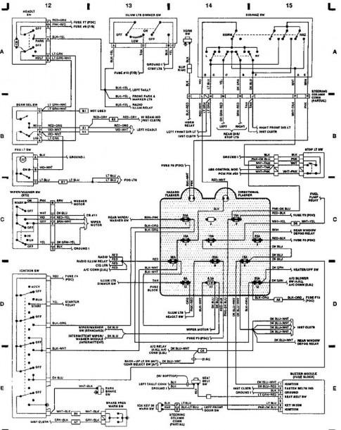 2013 Jeep Wrangler Fuse Box Diagram